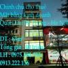 Chính chủ cho thuê mặt bằng kinh doanh tại Số 9 Thanh Nhàn, Quận Hai Bà Trưng, Hà Nội
